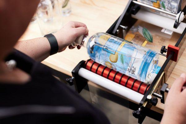 Plan B Distillery - Pepper Zest Gin Labelling
