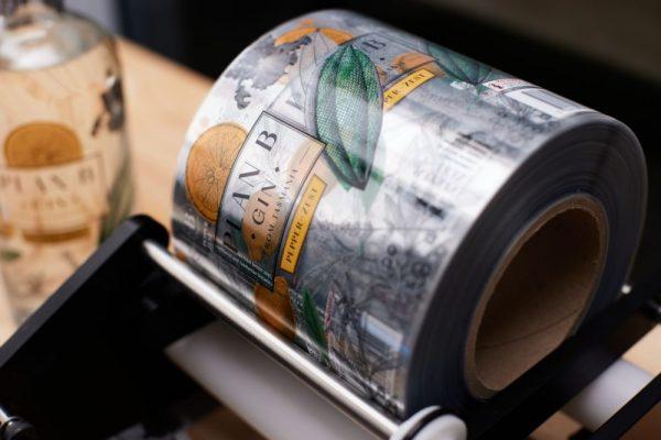Plan B Distillery - Pepper Zest Gin Label