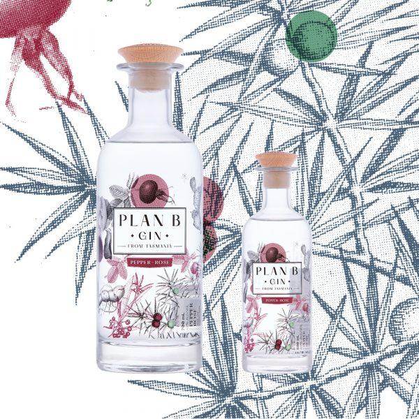 Plan B Distillery - Pepper Rose Gin - Product Family