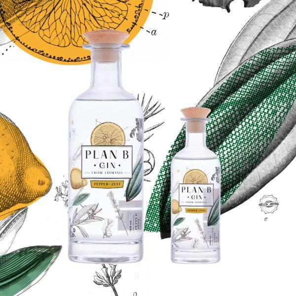 Plan B Distillery - Pepper Zest Gin - Product Family
